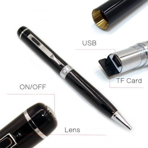 camera ngụy trang bút viết